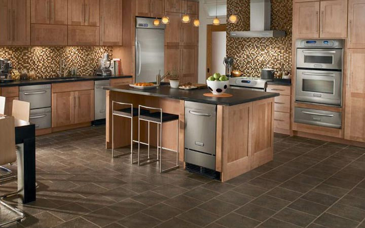 Kitchen flooring raleigh kitchen flooring installation Luxury kitchen flooring
