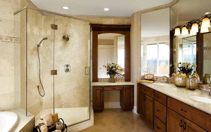 Elegant Master Bathroom Remodel   Raleigh Nice Ideas